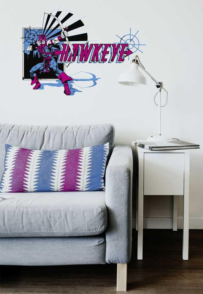 Wandtattoo Hawkeye Comic Classic