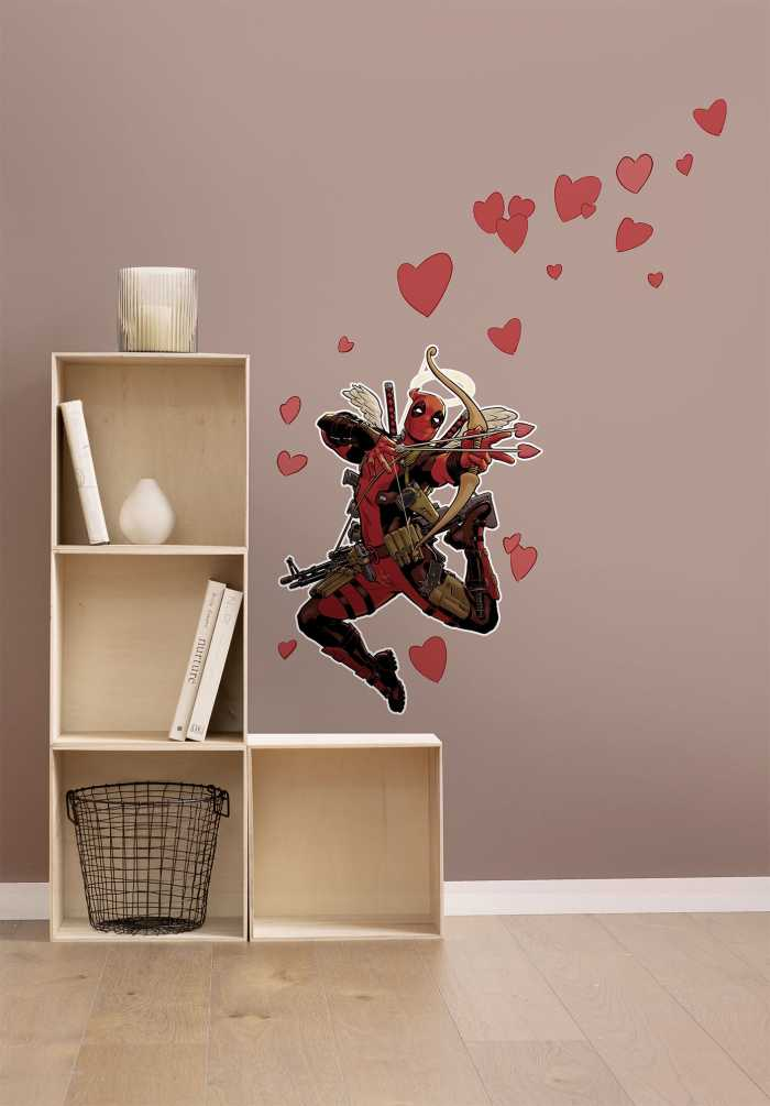 Wandtattoo Deadpool Lovepool