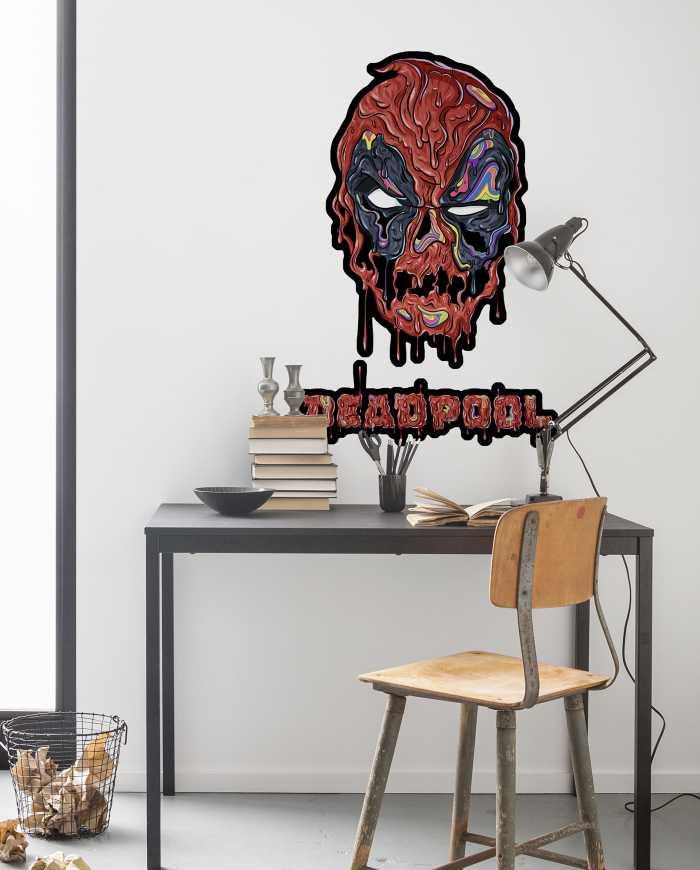 Wandtattoo Deadpool Meltpool