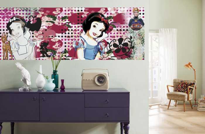 Fototapete Charming Snow White