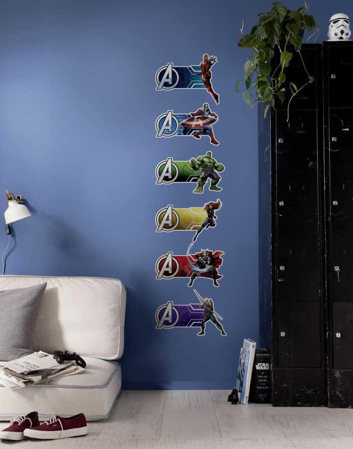 Wandtattoo Avengers Plates