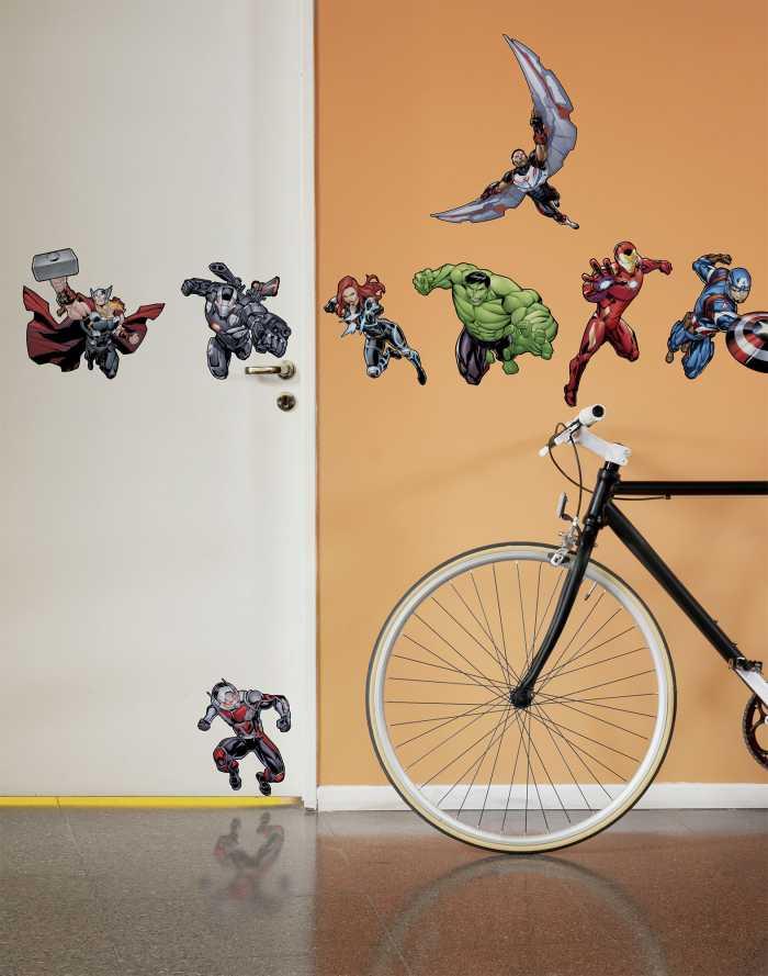 Wandtattoo Avengers Action