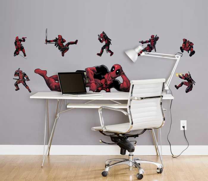 Wandtattoo Deadpool Posing