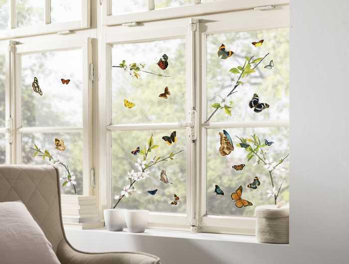 Fenstersticker Cheerful