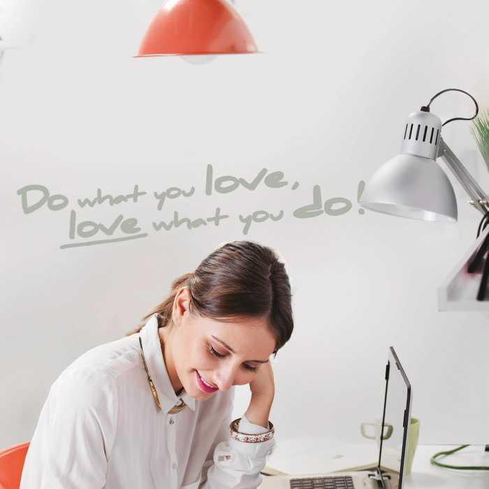Wandtattoo Do what you love