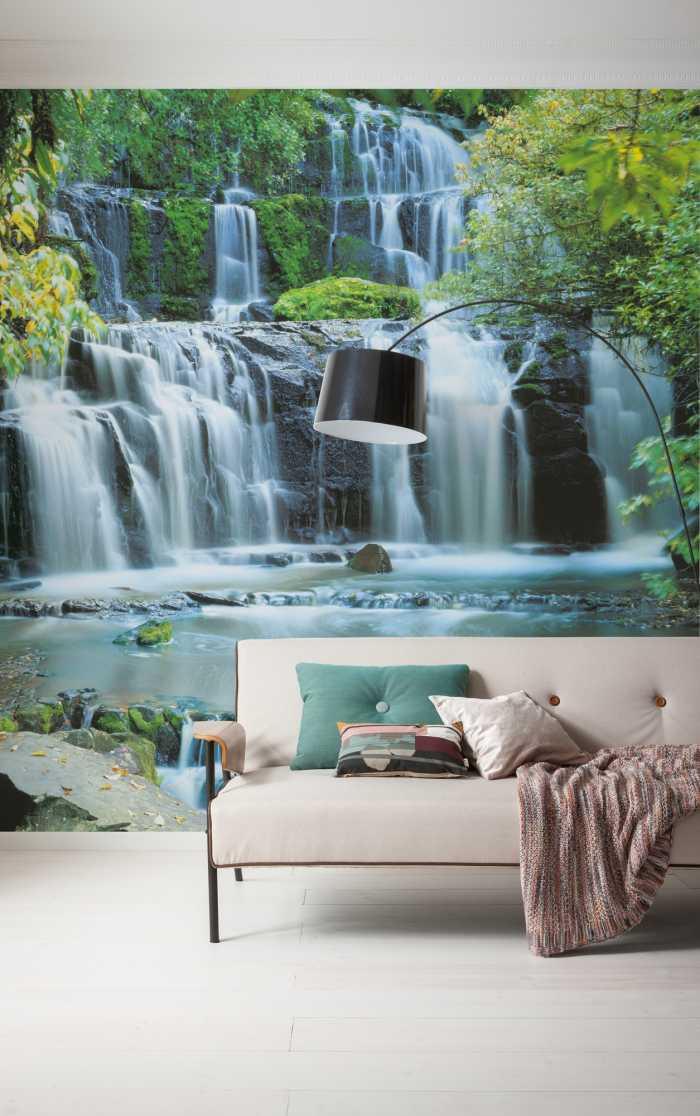 Digitaldrucktapete Pura Kaunui Falls