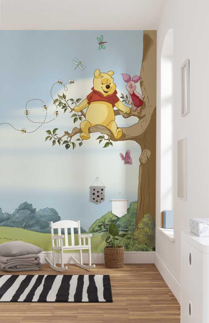 Fototapete Winnie Pooh Tree