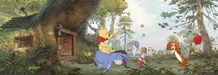 Fototapete Pooh's House