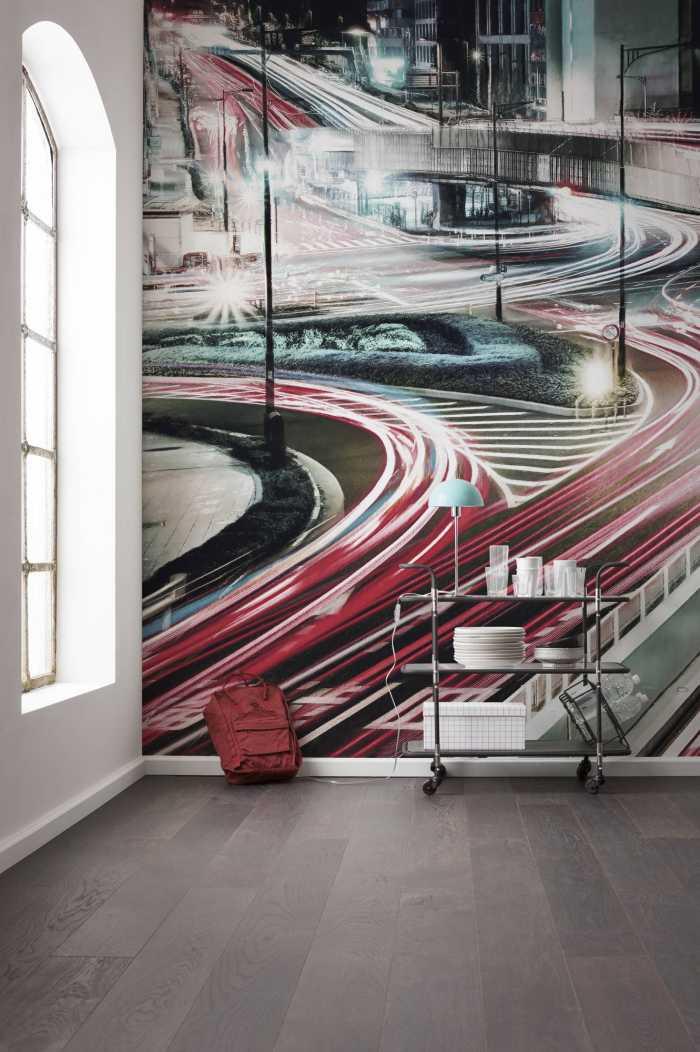 Digitaldrucktapete Speed Painting