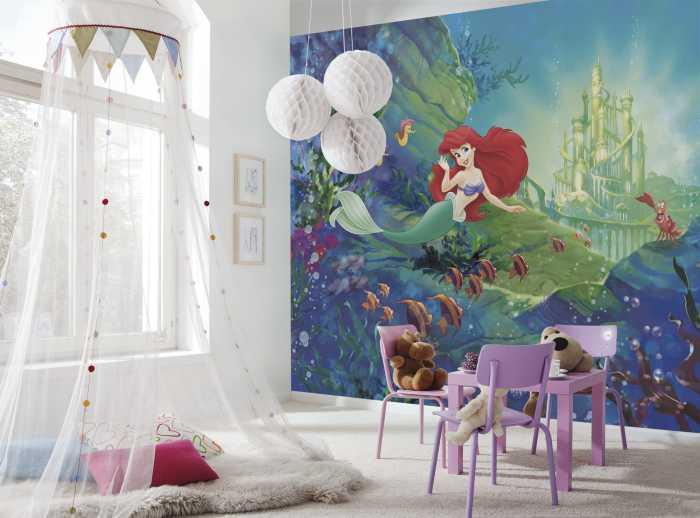 Fototapete Ariel's Castle