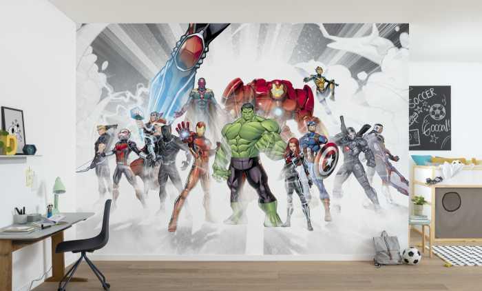 Fototapete Marvel Avengers Unite