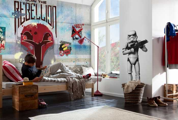 Fototapete Star Wars Rebels Wall