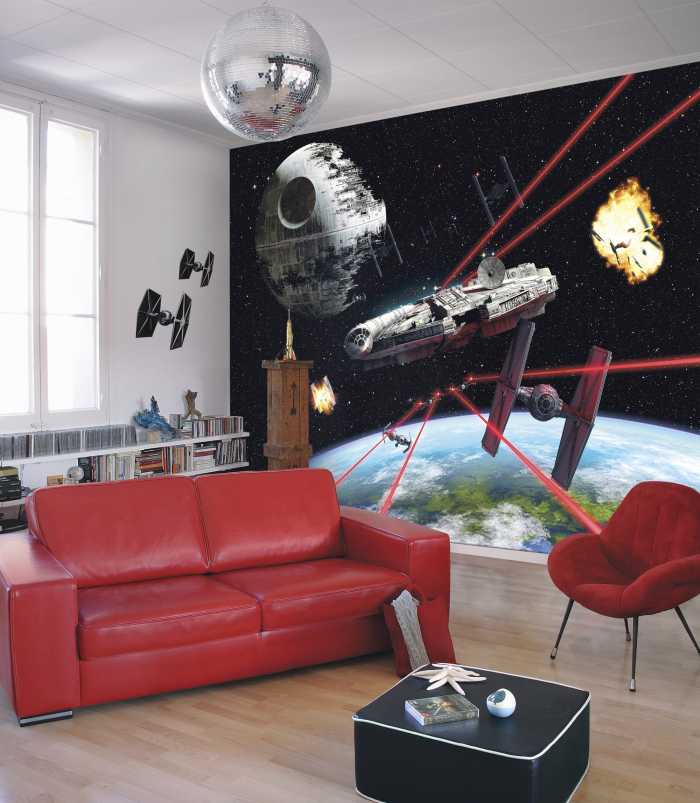 Fototapete Star Wars Millennium Falcon