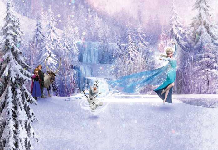 Fototapete Frozen Forest