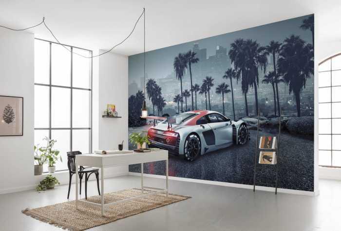 Fototapete Audi R8 L.A.