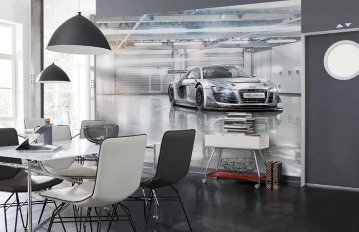 Fototapete Audi R8 Le Mans