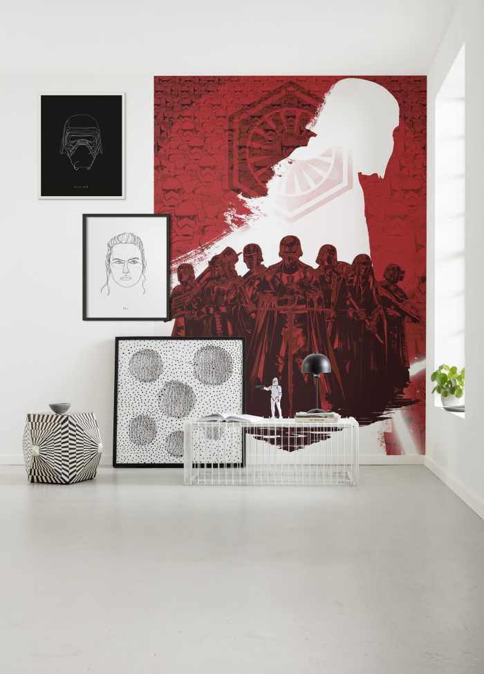 Digitaldrucktapete Star Wars Supreme Leader