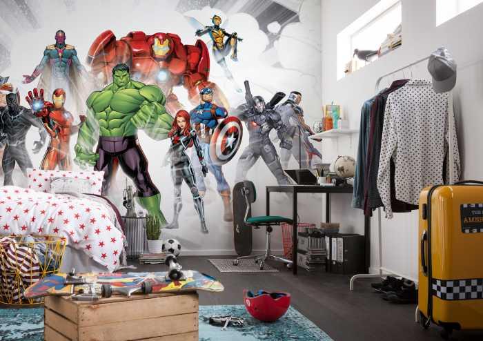 Digitaldrucktapete Avengers Unite