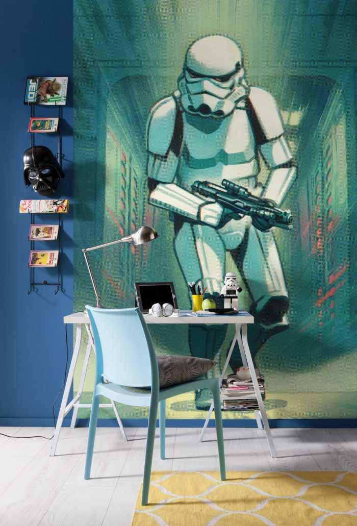 Digitaldrucktapete Mandalorian Stormtrooper Print