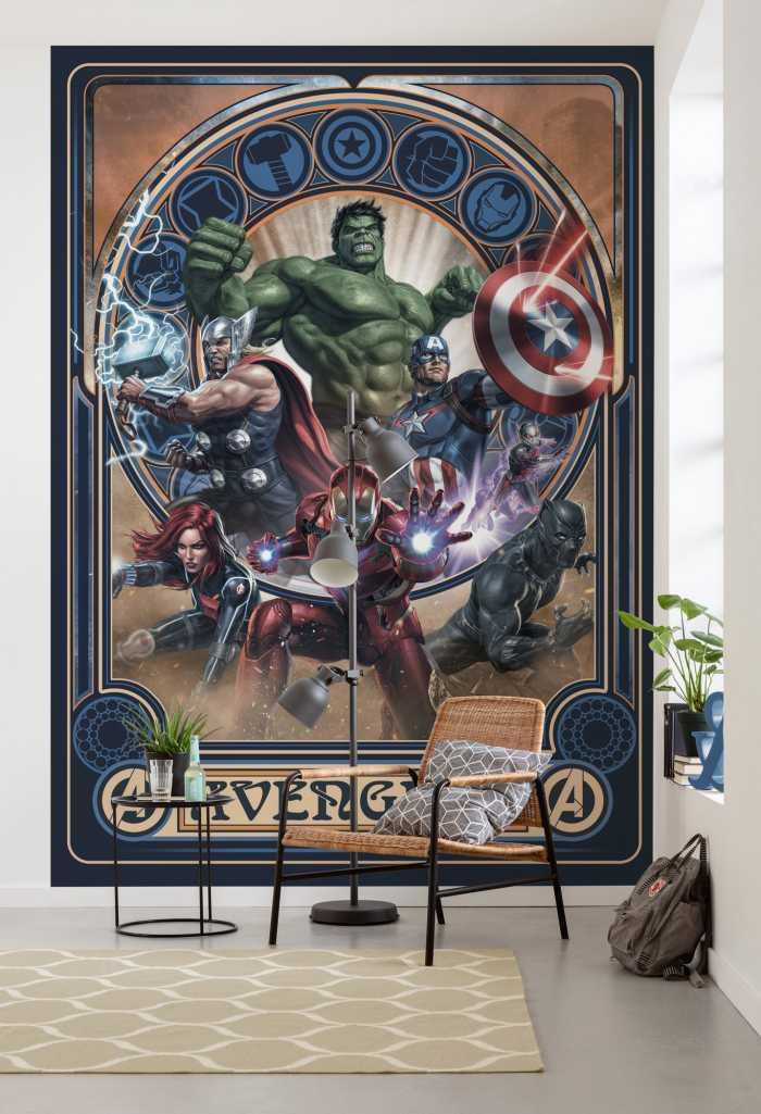 Digitaldrucktapete Avengers Ornament