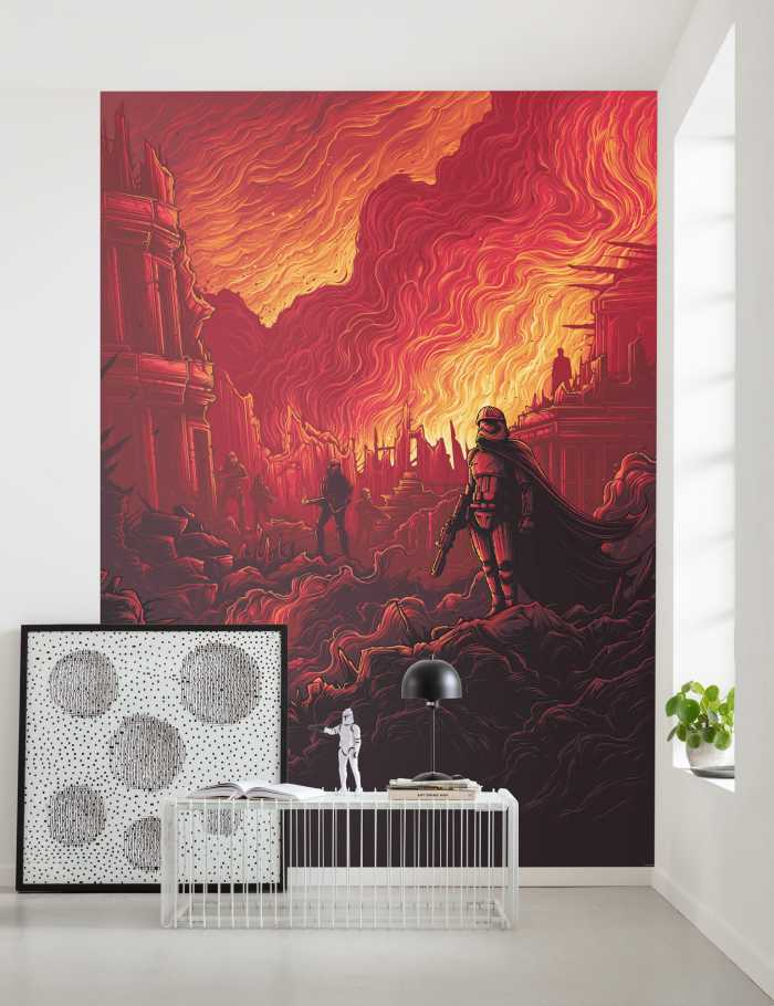 Digitaldrucktapete Star Wars First Order Purge