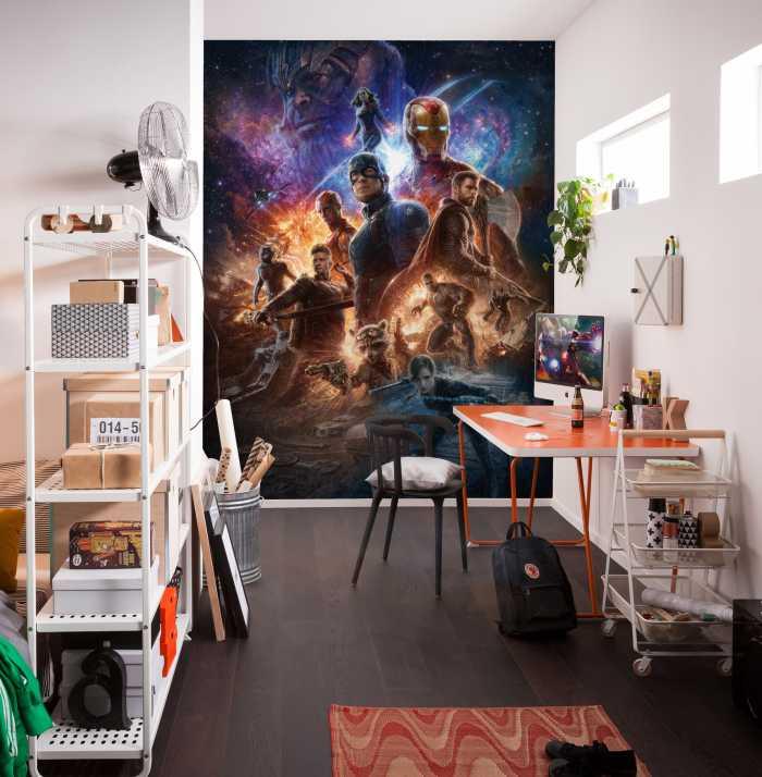 Digitaldrucktapete Avengers Battle of Worlds