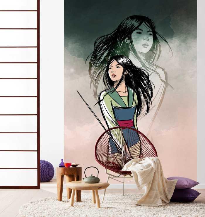 Digitaldrucktapete Brave Mulan