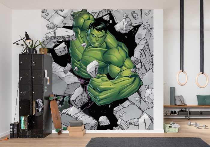 Digitaldrucktapete Hulk Breaker