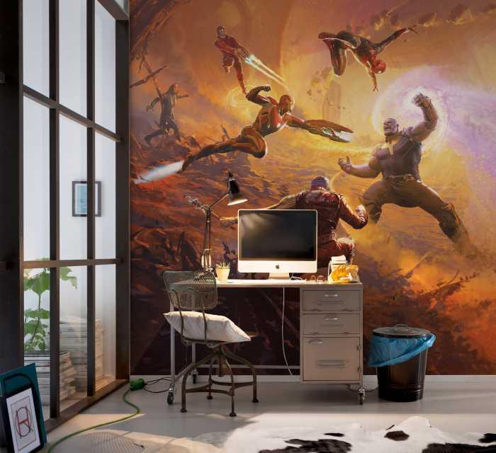 Digitaldrucktapete Avengers Epic Battle Titan
