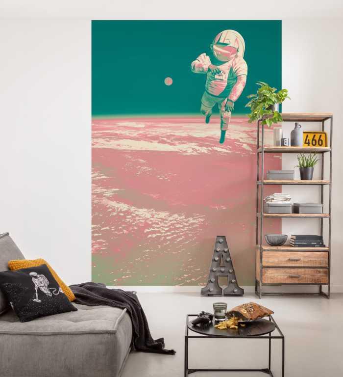 Digitaldrucktapete Spacewalk