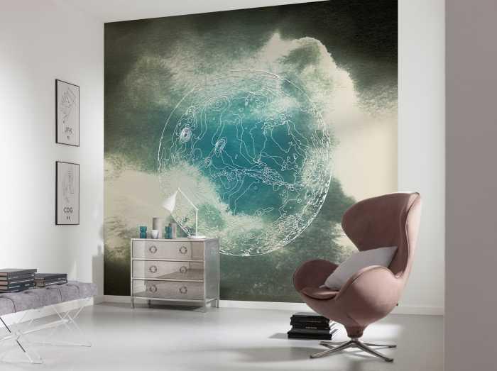 Digitaldrucktapete Surreal Planet