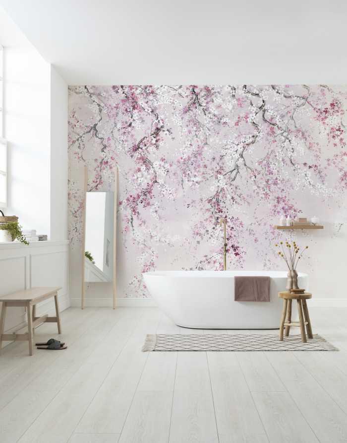 Digitaldrucktapete Kirschblüten