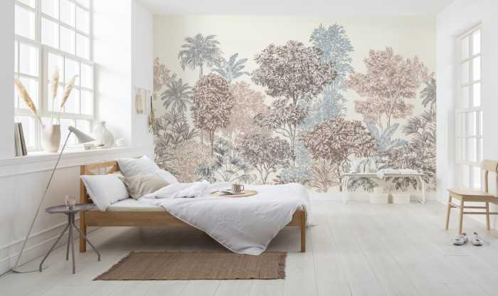 Digitaldrucktapete Painted Trees