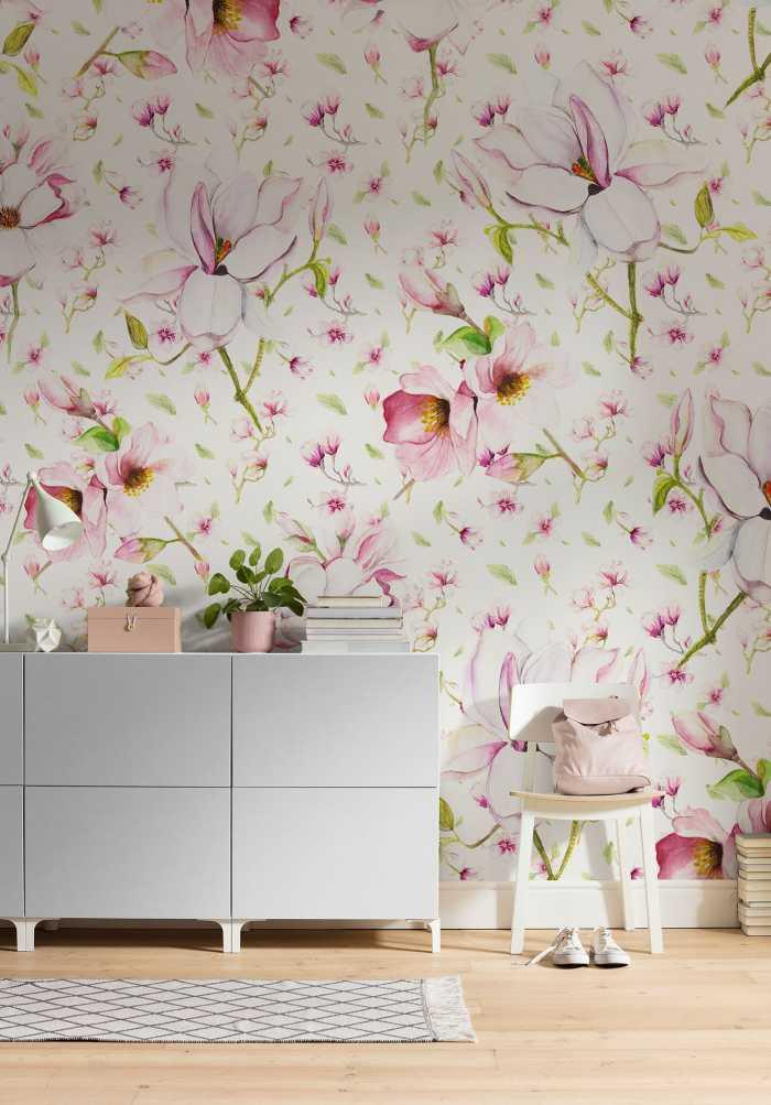 Digitaldrucktapete Magnolia