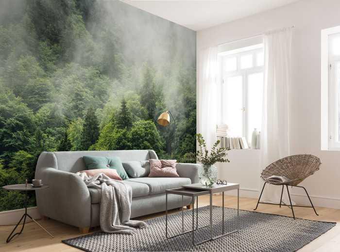 Digitaldrucktapete Forest Land