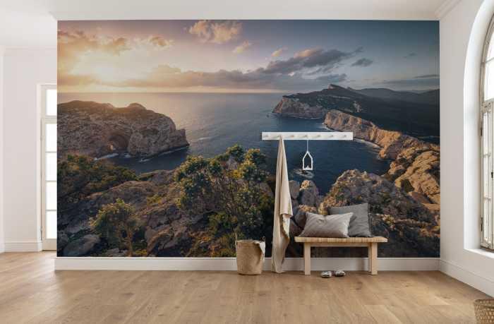 Digitaldrucktapete Mediterranes Spektakel