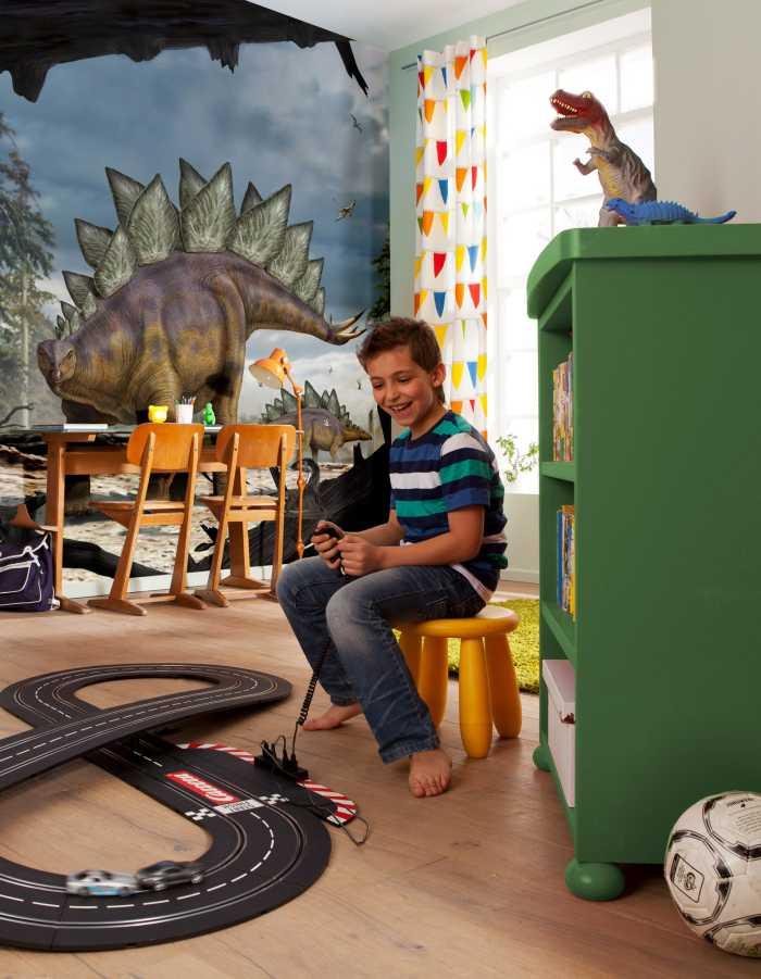 Vliestapete Stegosaurus
