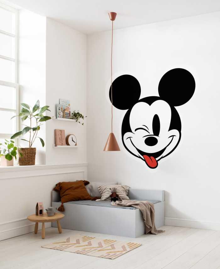 Selbstklebende Tapete Mickey Head Optimism