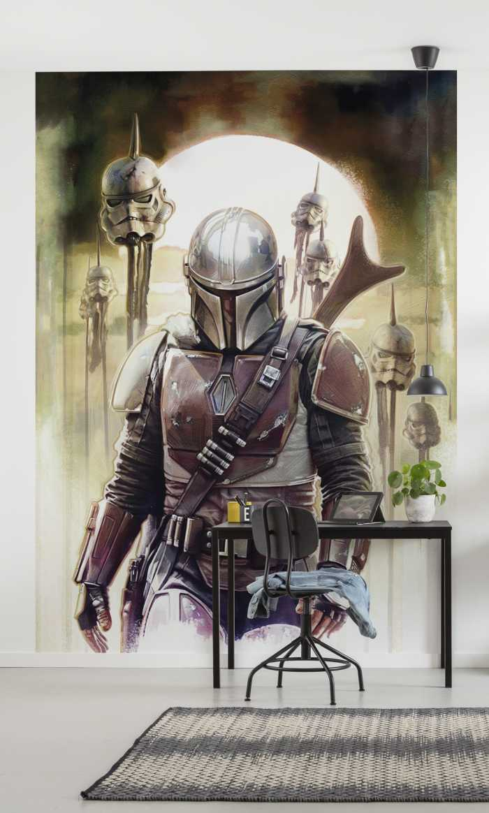 Digitaldrucktapete Star Wars The Mandalorian Big Impaler