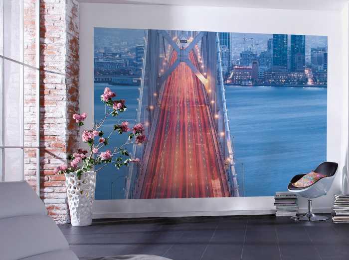 vliestapeten skylines online kaufen. Black Bedroom Furniture Sets. Home Design Ideas