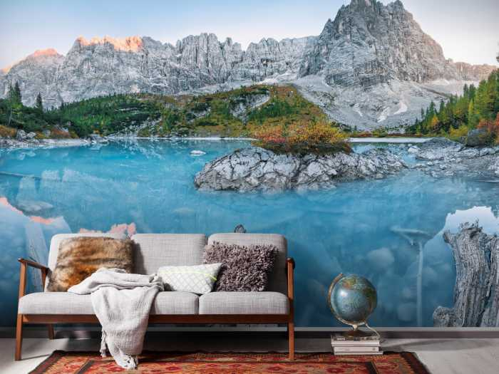 Digitaldrucktapete Alpine Treasure