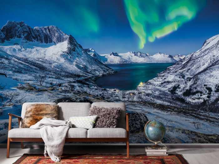 Digitaldrucktapete I LOVE Norway
