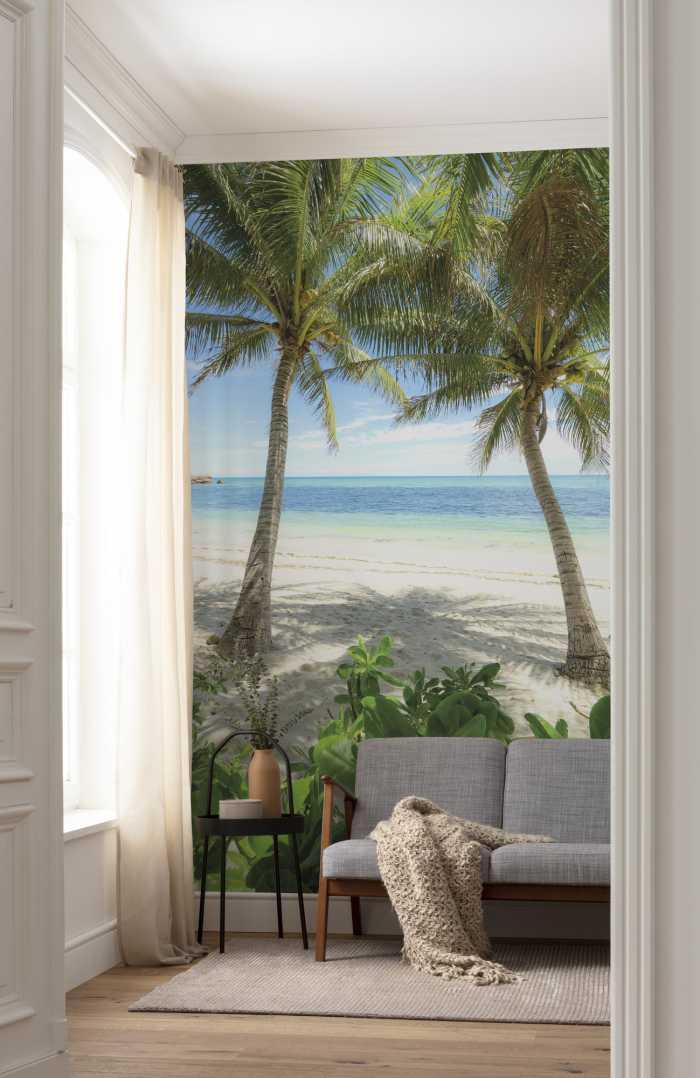Digitaldrucktapete Palmy Beach
