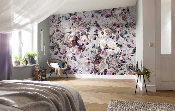 Digitaldrucktapete Lovely Blossoms