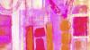 Stems Blooming pink-orange