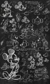Mickey - Chalkboard