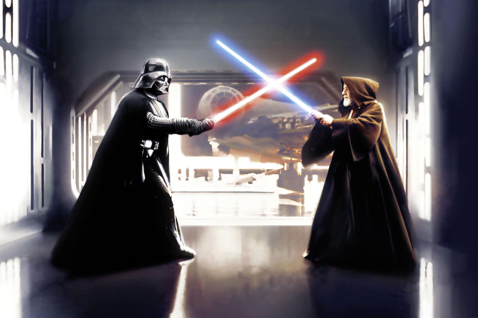 Star Wars Vader vs. Kenobi