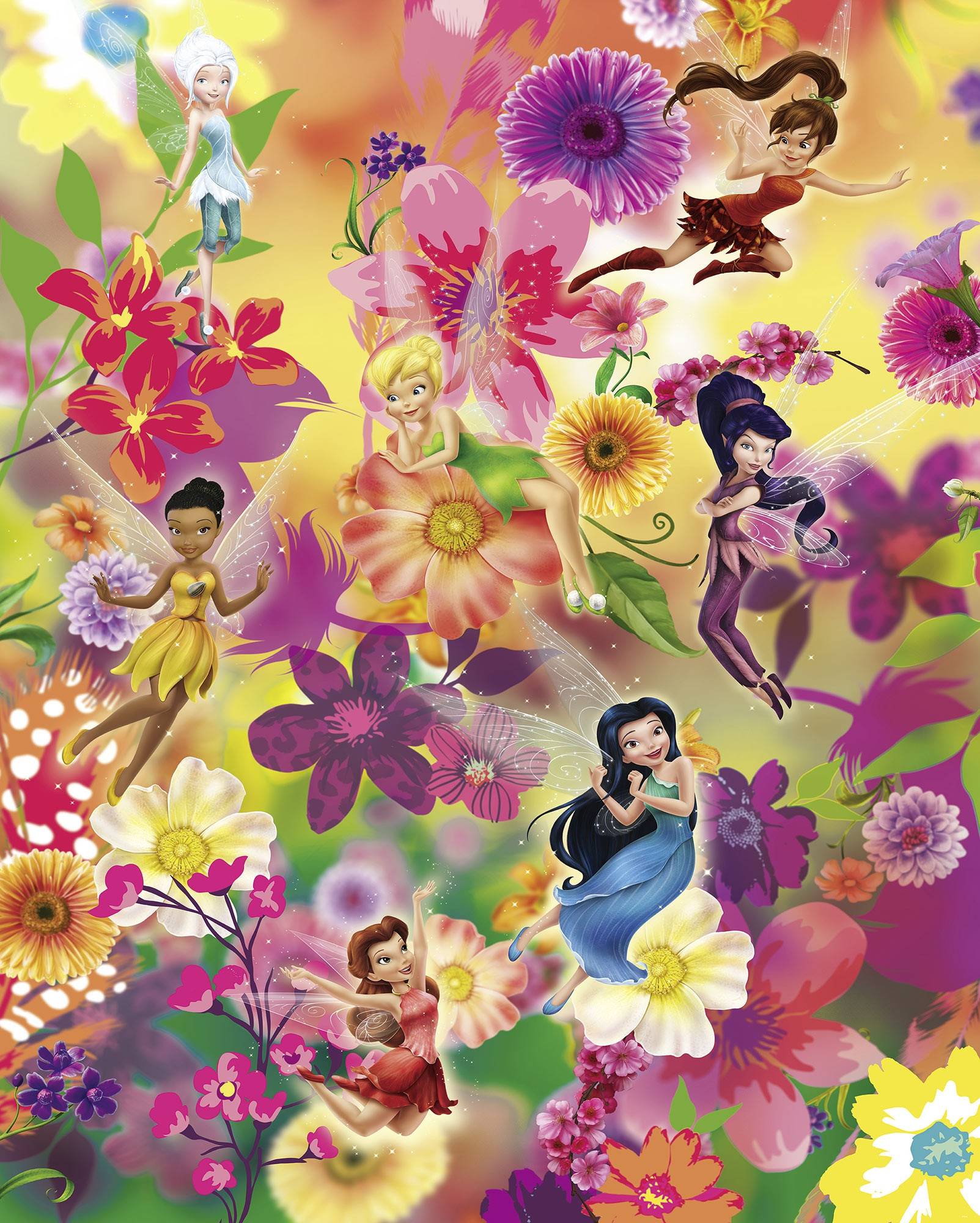 Fairies Flowers