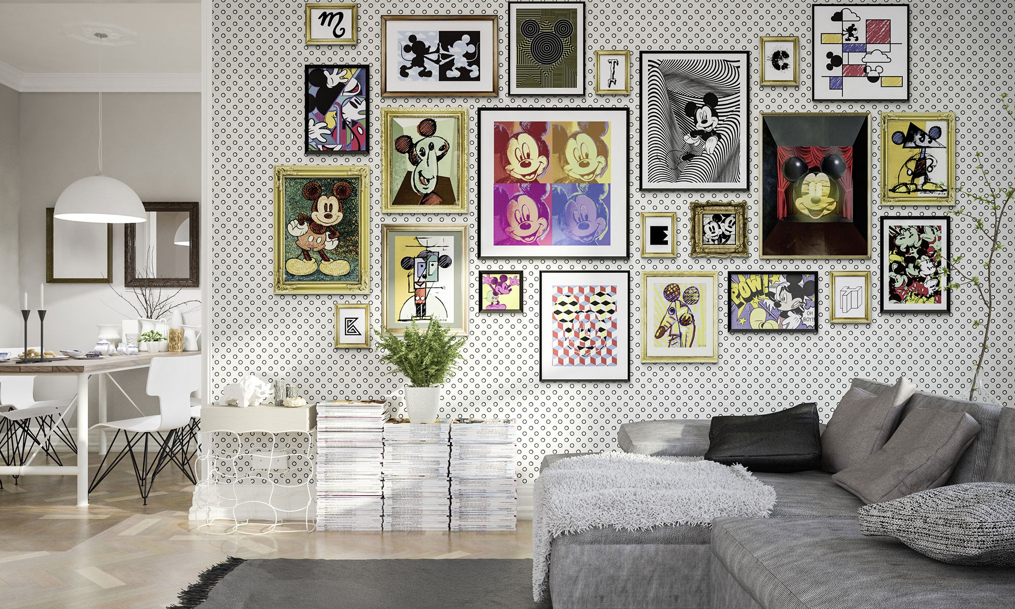 Mickey Art Collection