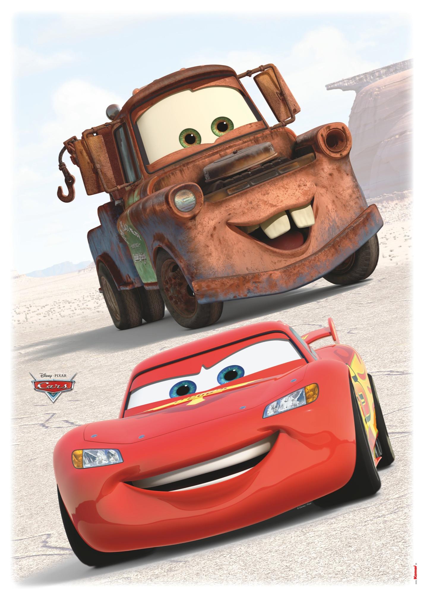 Wandsticker cars friends von komar disney - Wandtattoo cars ...